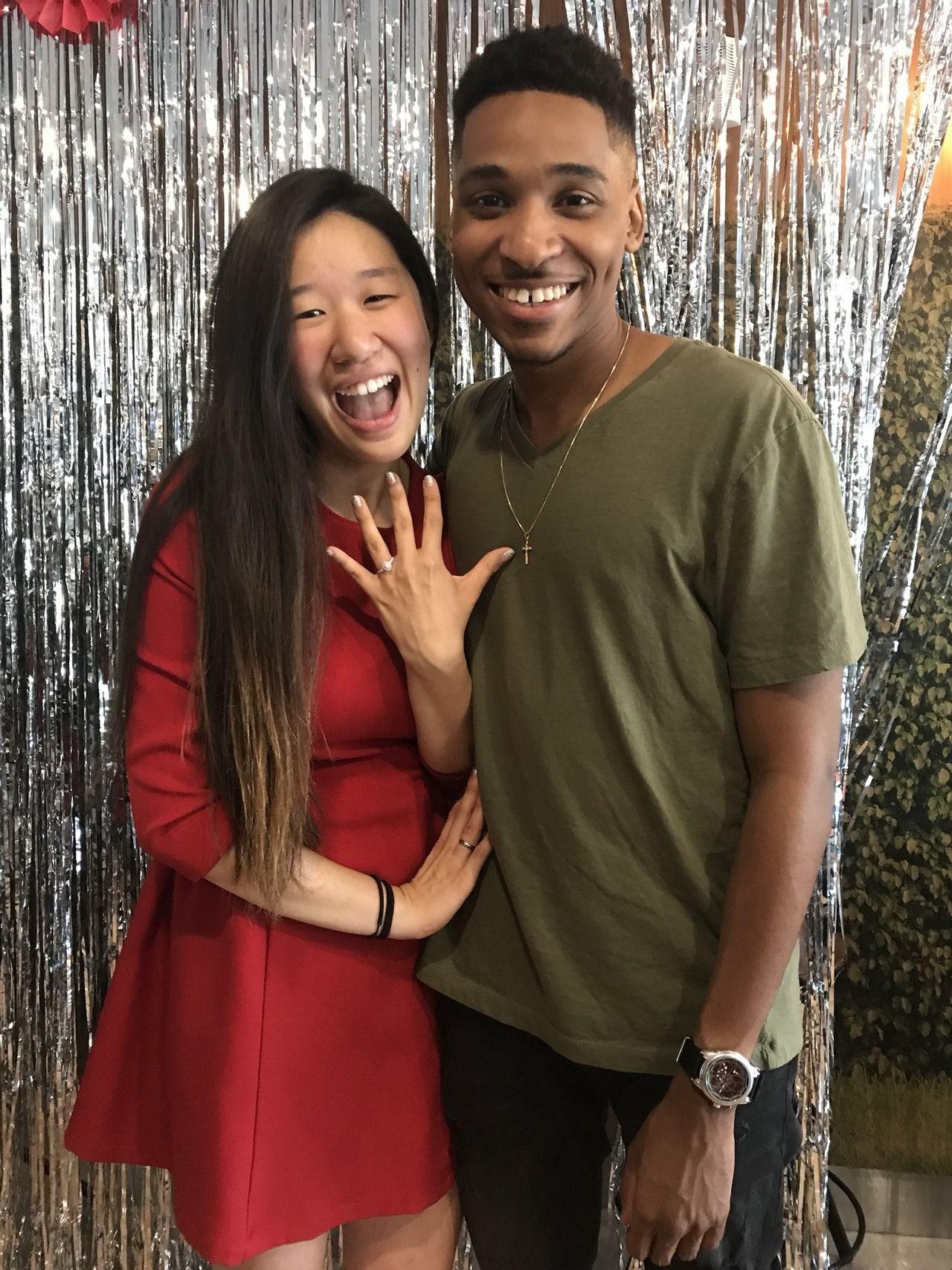 Asian black couples
