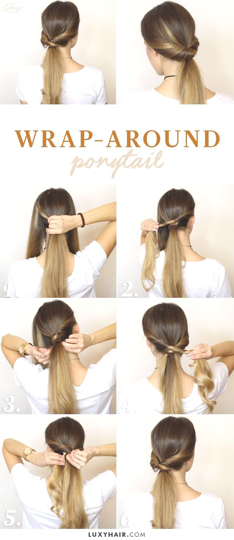 Hairstyles For Long Hair Tied Up Combover