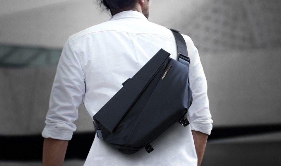 磁石開封が便利 コンパクトなのに収納力抜群のスリングバック Radiant Urban Sling Pack Bouncy バウンシー スリングバック スリングバッグ バッグ