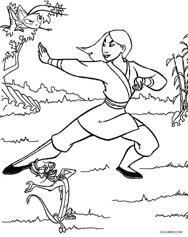Mulan Coloring Pages Princess Coloring Pages Disney Printables Coloring Pages For Kids