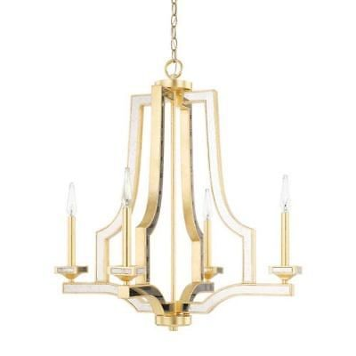 Capital lighting fixture company abella capital gold four light chandelier