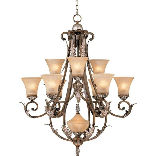 Universal Lighting And Decor Bronze Gold Finish Acanthus