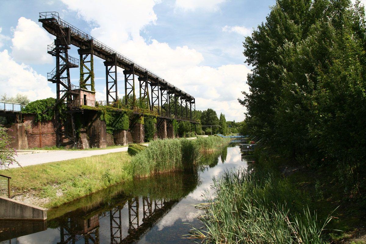 Duisburg Nord Waterpark Landscape Germany Landscape Landscape Design