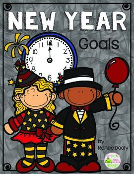 Here is a fun, simple way for your student to document goals they may have for the new year.  Check out my blog for more ideas: Fantastic First Grade Froggies