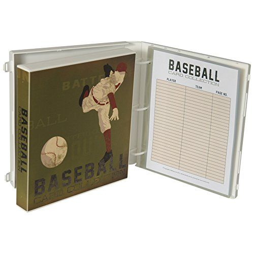 #Baseball Trading Card Binder