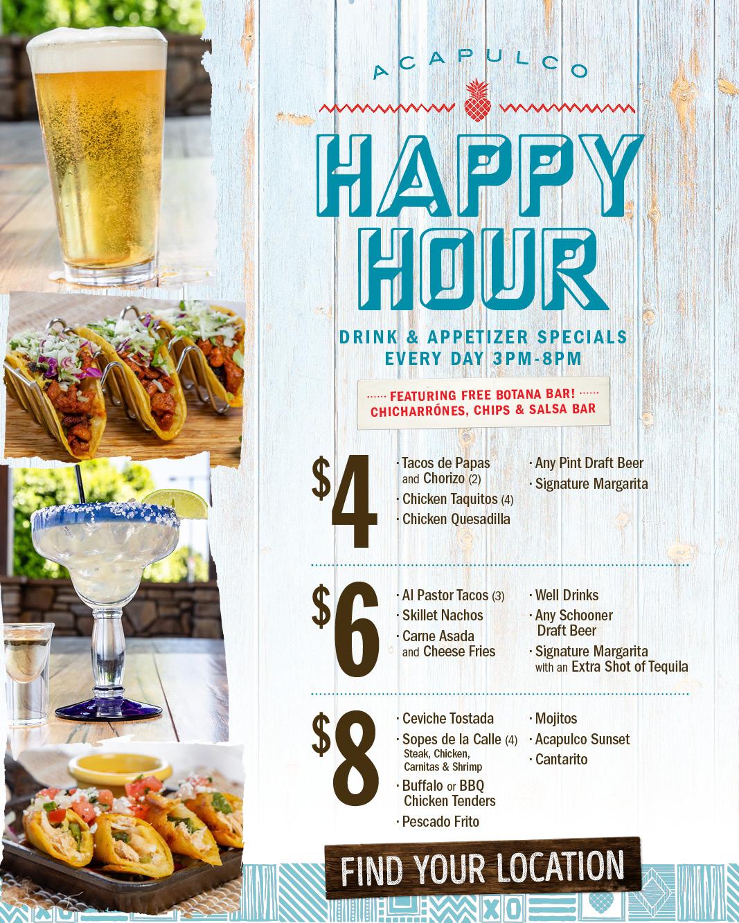 Restaurant Happy Hour Google Search Salsa Bar Happy Hour Drinks Beer Chicken