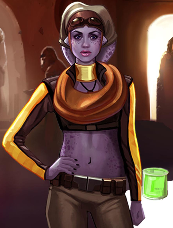 Image result for star wars commander liana