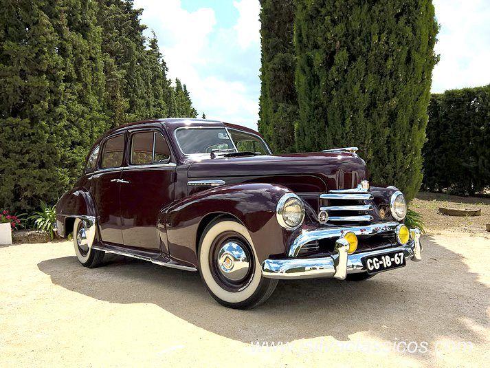 #Opel modelo Kapitän de 1952