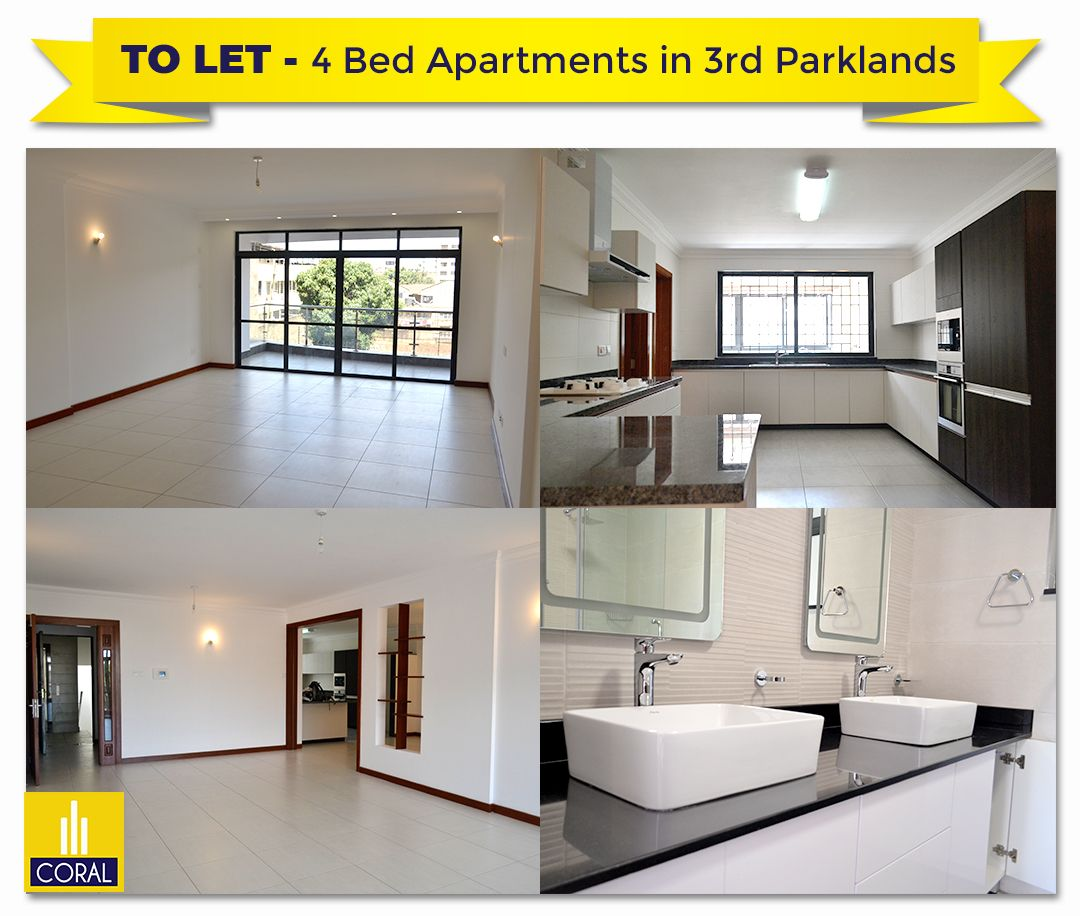 4 Bedroom Apartments To Let In Parklands Niharika 4