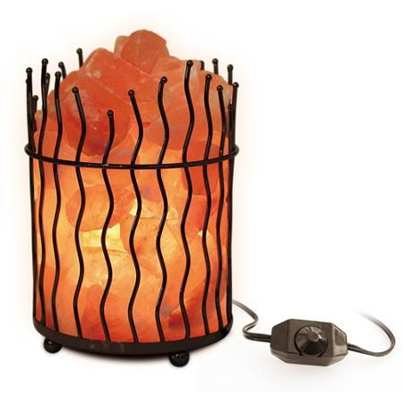 Salt Lamp Walmart Impressive Himalayan Salt Natural Air Purifying Pillar Salt Lamp With Bulb And