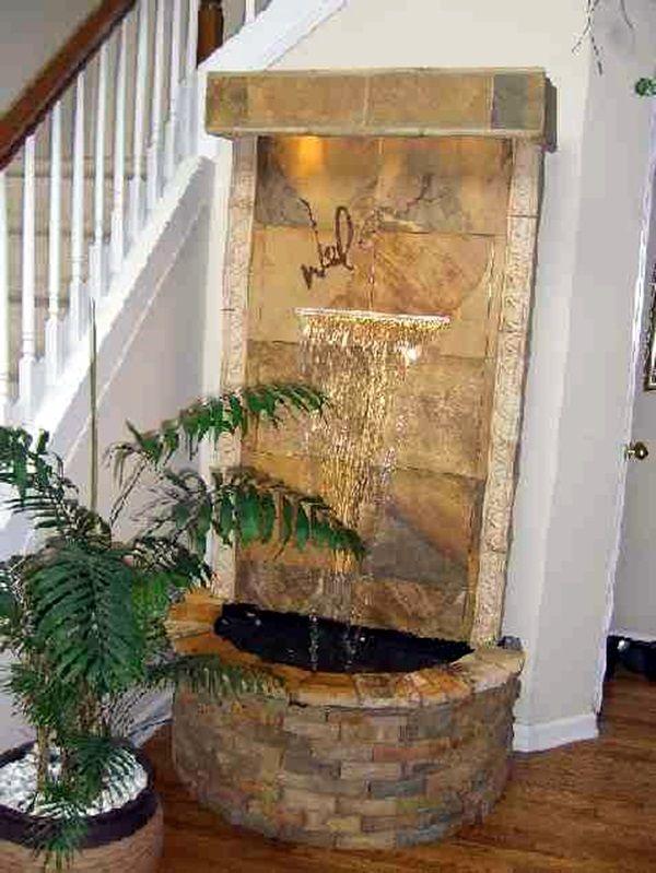 40 Relaxing Indoor Fountain Ideas Indoor Water Features Water