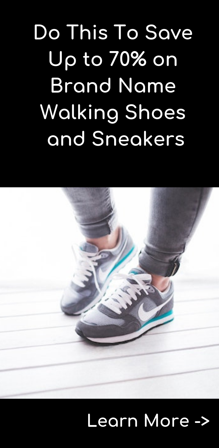 f39fd214d05e0 If you want to save big on your next pair of walking shoes or sneakers,  find an online outlet shoe store and sign up for their e-mail list.
