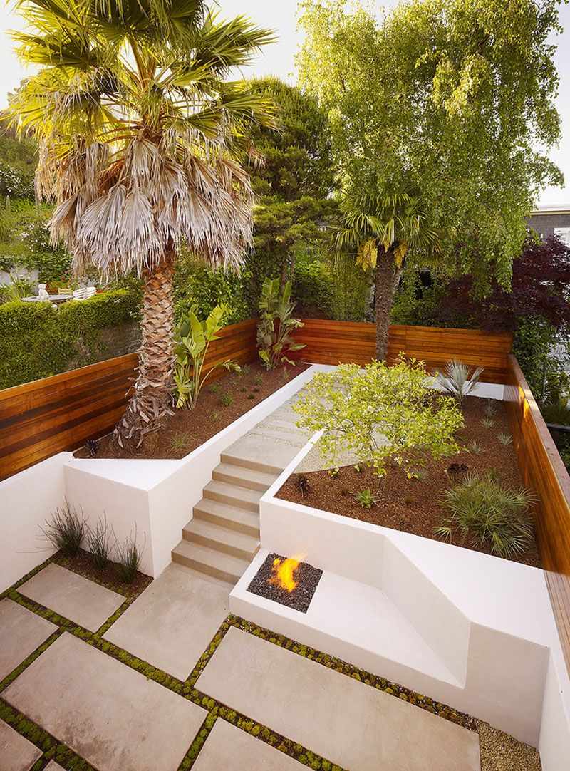 How To Turn A Steep Backyard Into A Terraced Garden | Pinterest ...