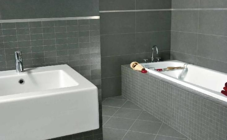 Grès cérame pleine masse salle de bain Pinterest