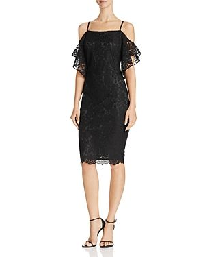 Laundry By Shelli Segal Laundry By Shelli Segal Cold Shoulder Lace