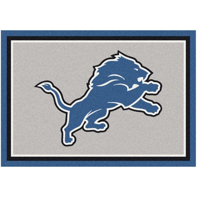 "Detroit Lions 92"" x 129"" Spirit Rug"