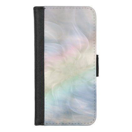 Pretty Cool Pastel Rainbow Mandala Design IPhone 8/7 Wallet Case   Trendy Gifts  Cool