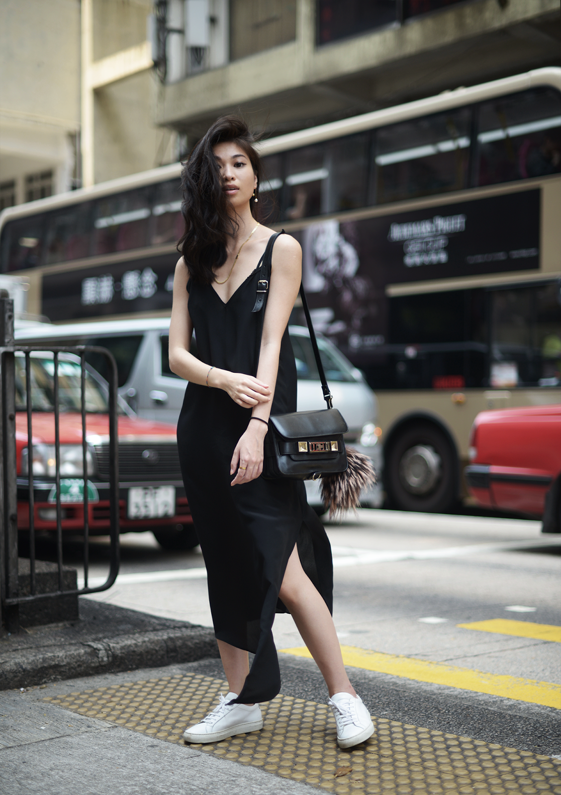 Asymmetric Slip Dress by Raey in Hong Kong   Raw   FOREVERVANNY.com 슬립 드레스 c835307f11b27