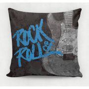 Almofada decorativa em tecido estampado -  ROCK & ROLL  – 45cm X 45cm - Decorsoft - Almofadas com estampas lindas. Aqui você encontra! @decor_soft http://www.decorsoft.com.br/ #decorsoft #decor #almofadas #decoração #adorable