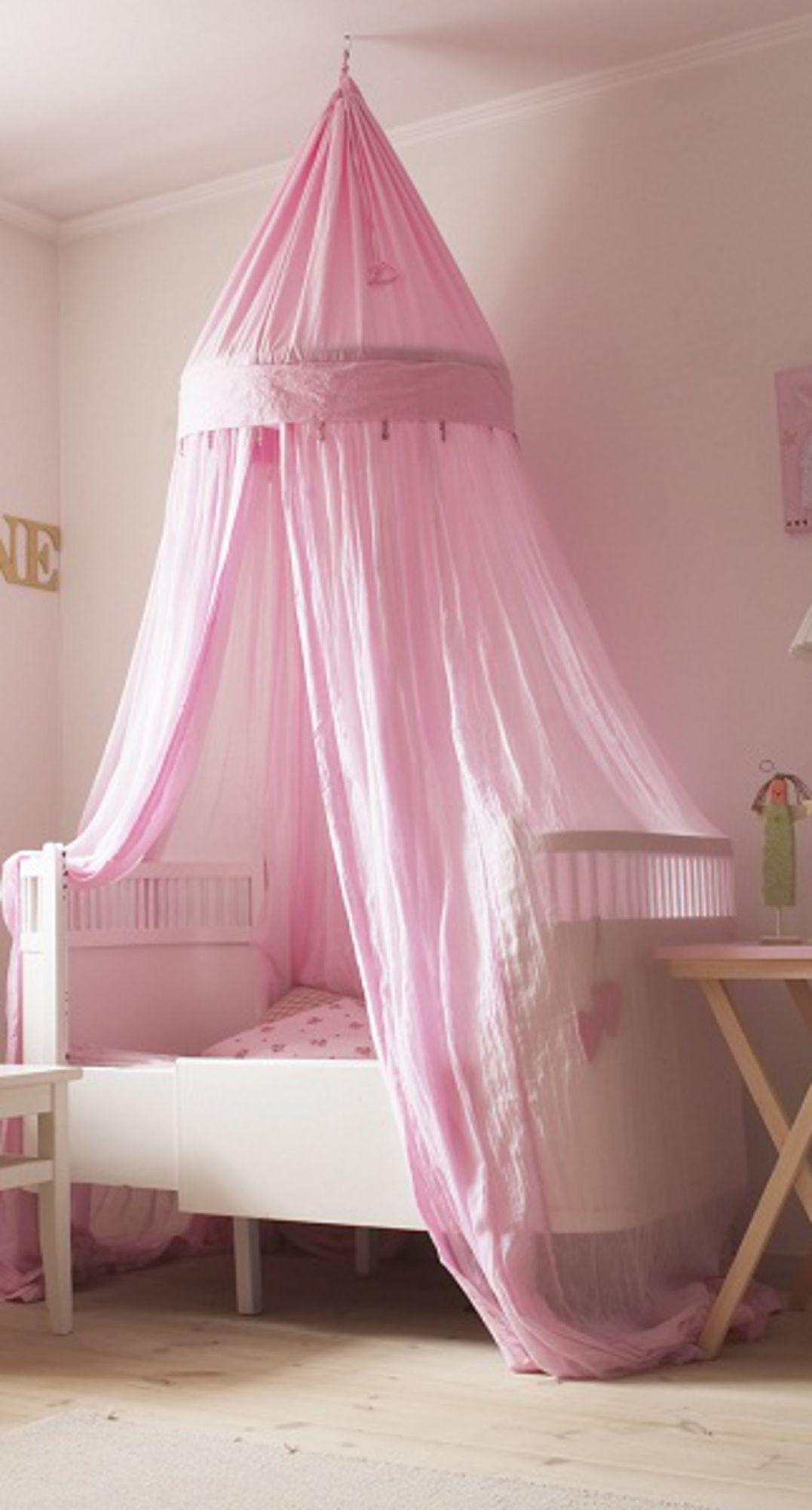Vellidte Til F: Funky Factory Sänghimmel Rosa | Wishlist - for the girls MB-61