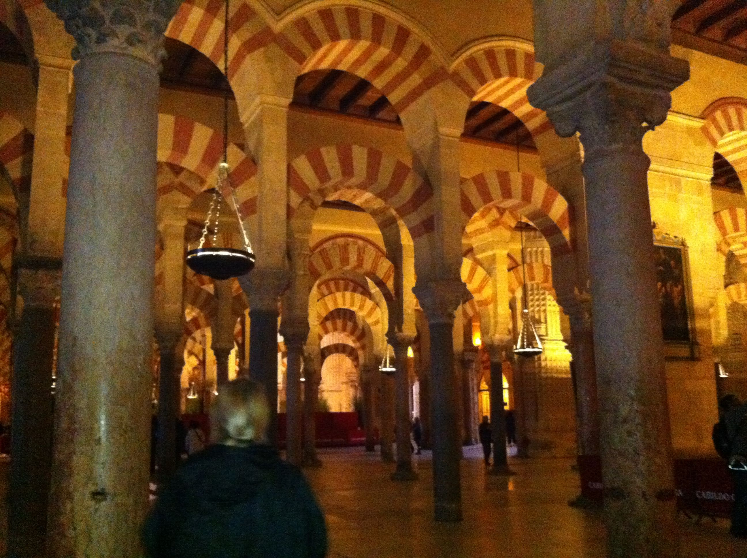 La Mezquita Mosque in Cordoba, Spain