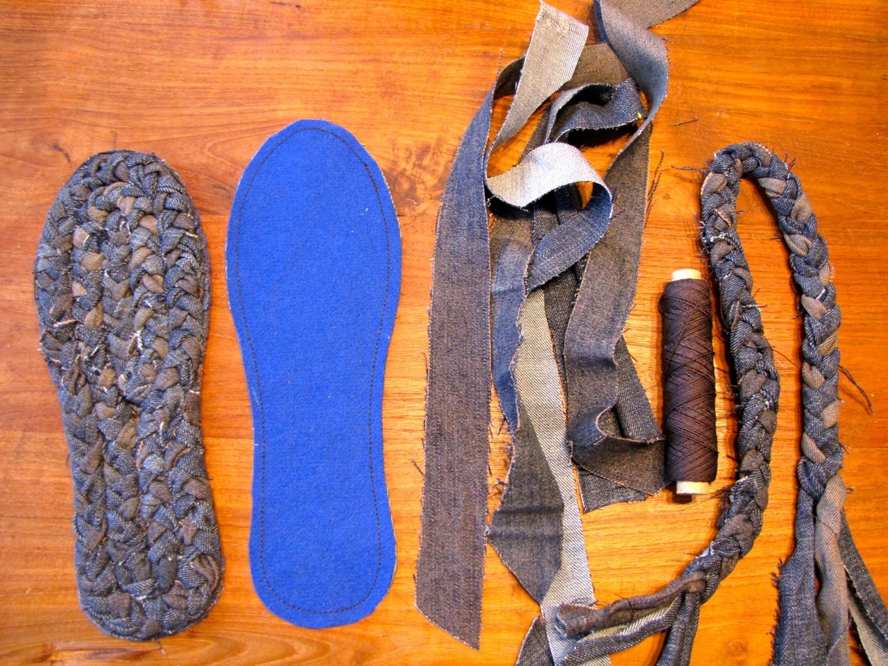 Photo of Shoe Shortage! Making Soles for House Shoes