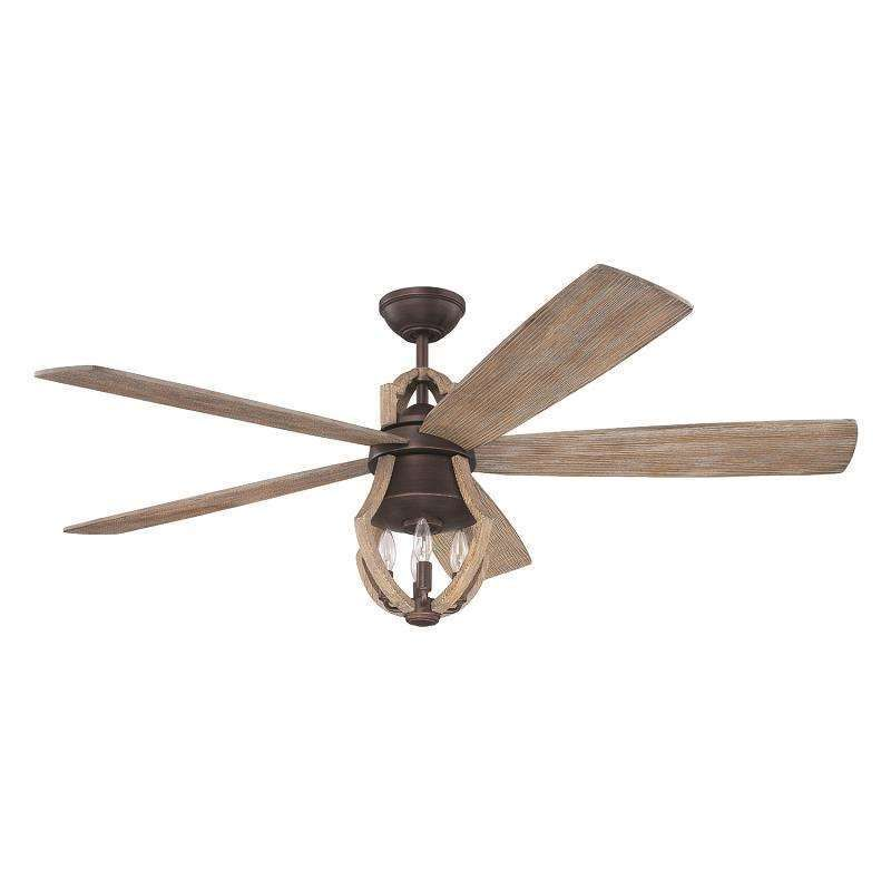 Craftmade win56abzwp5 winton 56 ceiling fan in weathered pine with craftmade win56abzwp5 winton 56 ceiling fan in weathered pine with downlight and remote control aloadofball Image collections