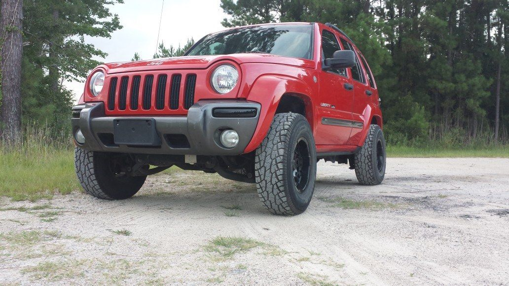 Lifted Jeep Liberty