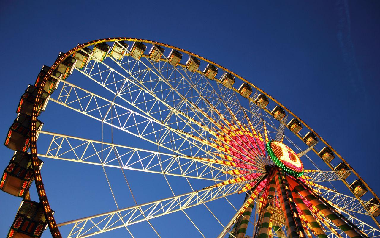 Ferris Wheel Wallpaper By Derstoffel From Http Interfacelift Com Ferris Wheel At The Background For Photography Photography Backdrops Ferris Wheel Hd wallpaper autumn ferris wheel park