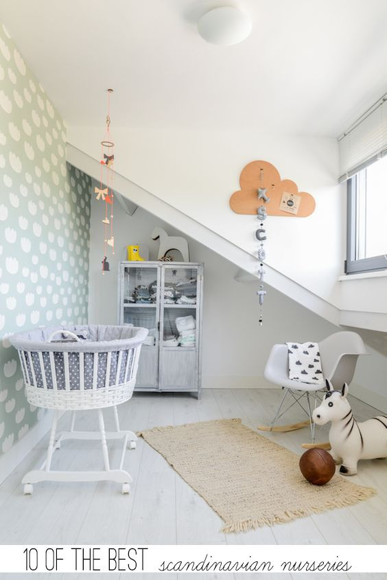10 Nursery Di Stile Scandinavo With Images