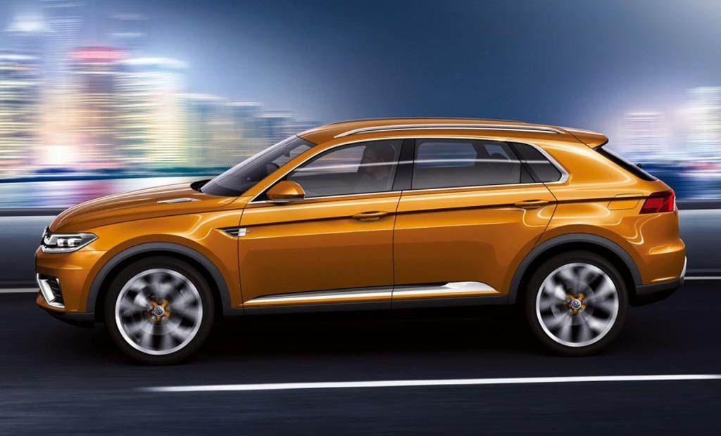 2015 VW Tiguan Side View VolkswagenTiguan Volkswagen