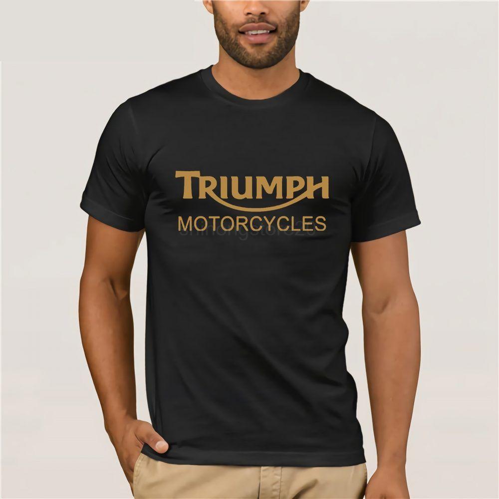 NEW TRIUMPH MOTORCYCLE T-SHIRT TRIUMPH MOTORCYCLES MENS T-SHIRT