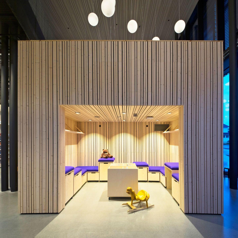 Reiulf Ramstad Architects, Lusparken arkitekter, JSTArkitekter, Wenzel Prokosch · Cultural Center Stjørdal · Divisare