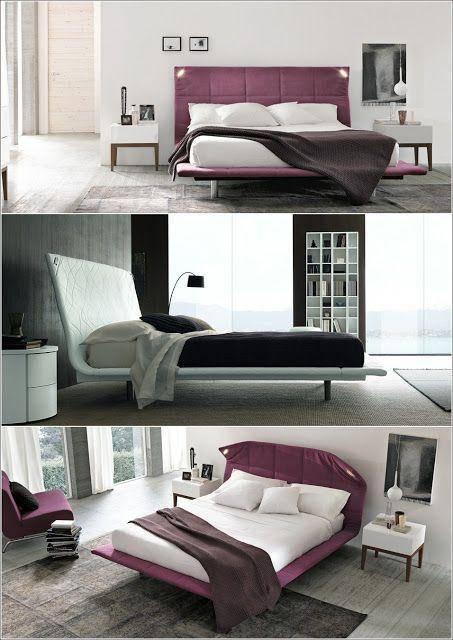Lits rembourrés pour un look chic à votre chambre à coucher! Chic