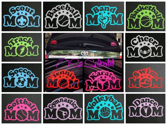Sports Or Activity Mom Car DecalWindow Sticker If You Dont See - Custom car decals baseball