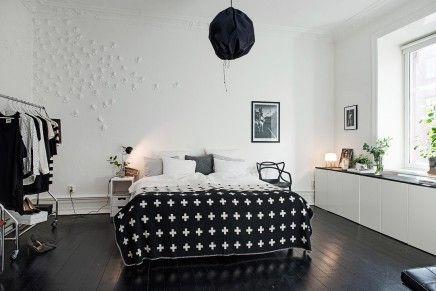 Witte Scandinavische Slaapkamer : Styling in een scandinavische slaapkamer slaapkamer