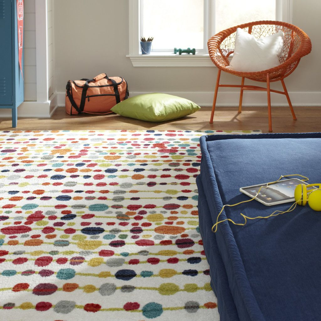 Charming 11820 416 096120_rm01, Back To Campus, Dorm Rug, Bright Teen Rug, Bright