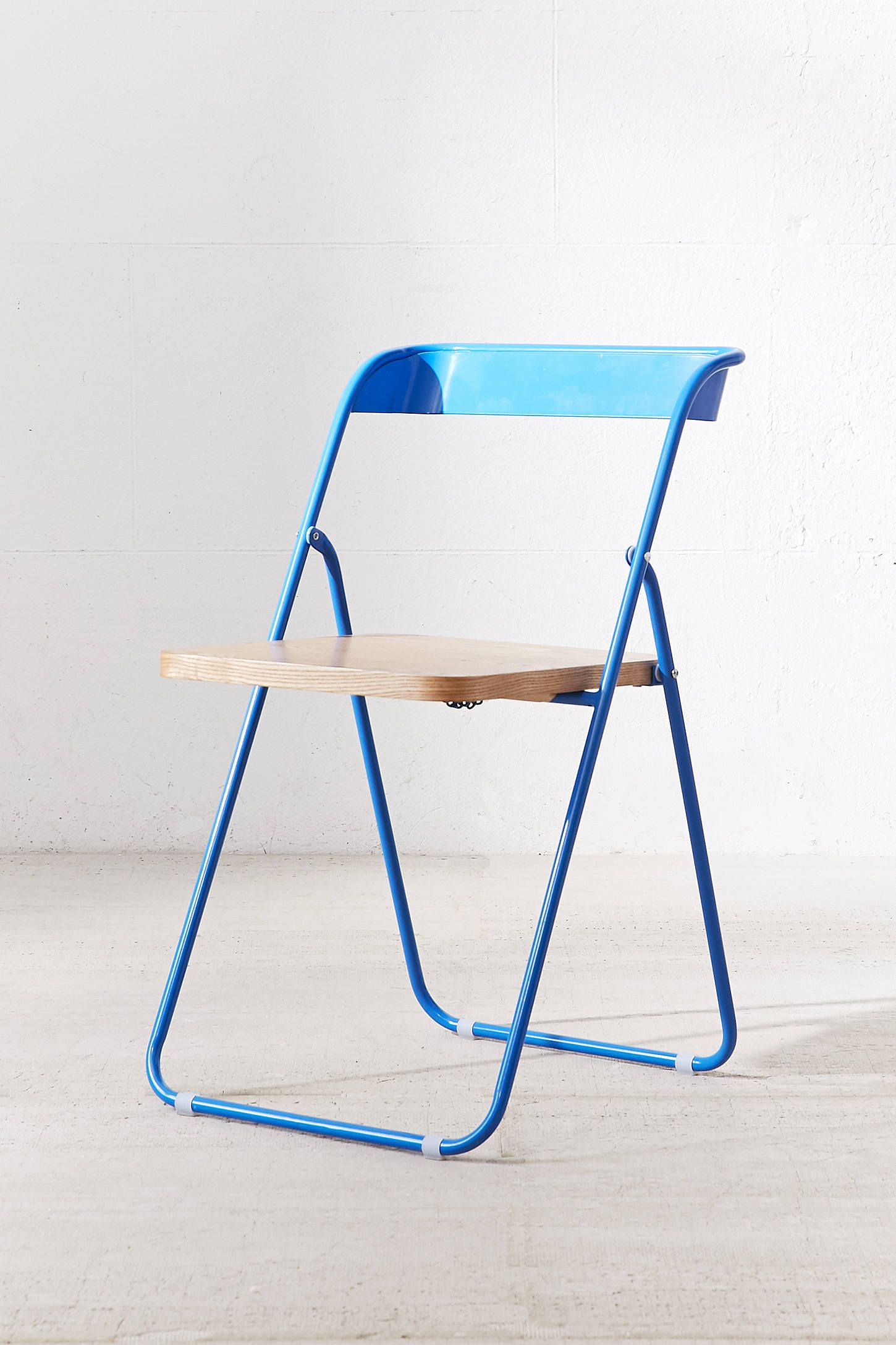 Nora Wooden Folding Chair Folding Chair Small Space Seating