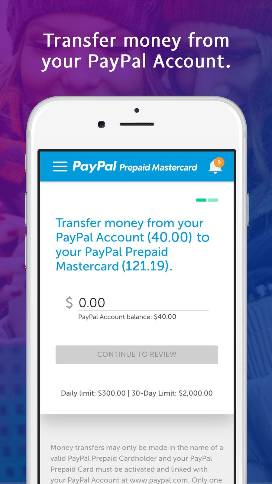PayPal Prepaid UtilitiesFinanceappsios Finance apps