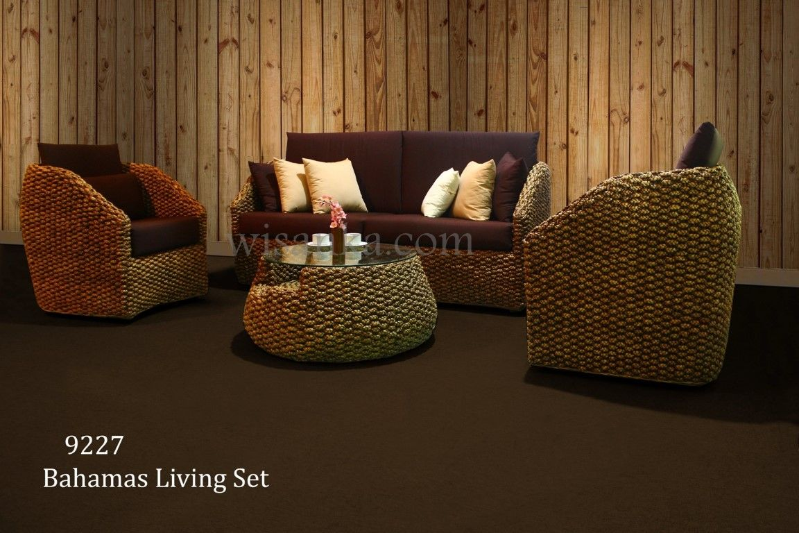 Bahamas Living Set by wisanka Indonesia. Visit us www.indonesiarattan.com