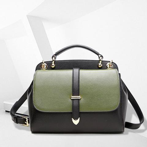 388610f08a2d Genuine leather vintage women handbag shoulder bag crossbody bag ...