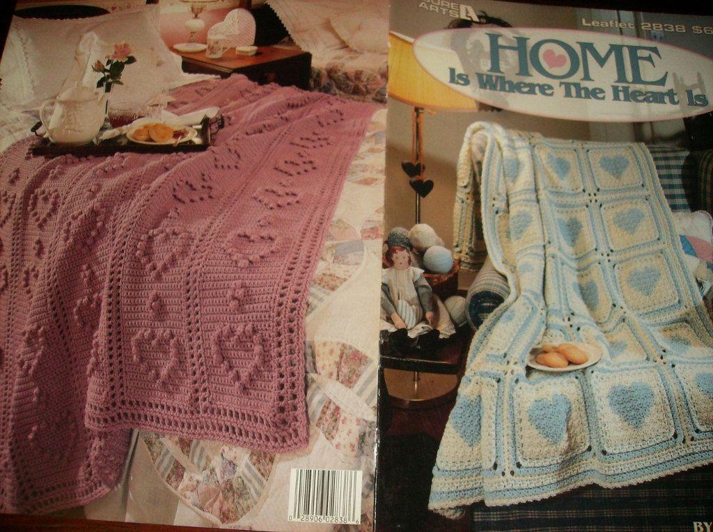 Crochet Filet Heart Afghan Patterns Google Search Crochet