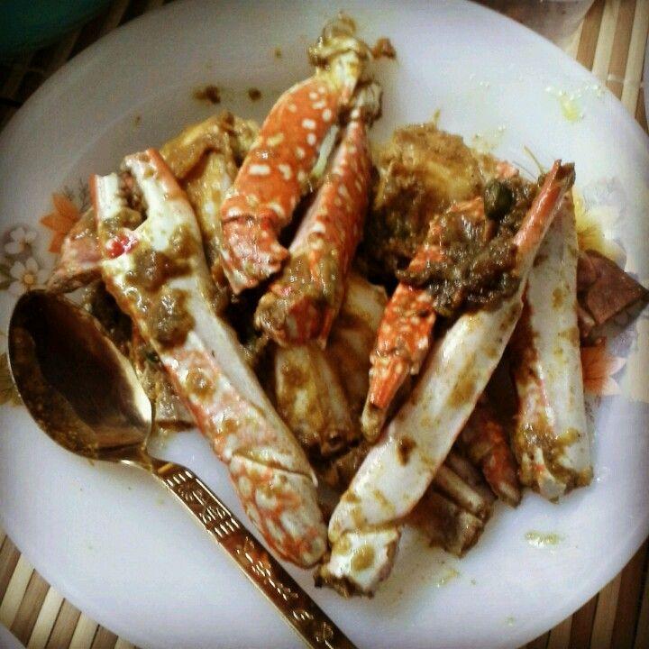 Ketam Goreng Kunyit Crab Asian Dishes Dishes Crab
