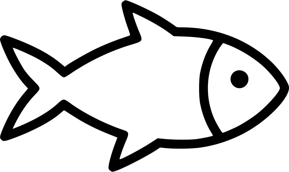 Fish Svg Fishing Svg Fish Silhouette Scrapbook Stencil