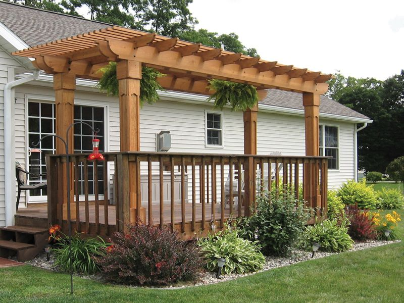 AK Complete Home Renovations, Atlanta - President's Blog: Pergola Perfection - 25+ Best Ideas About Pergola Pictures On Pinterest Corner