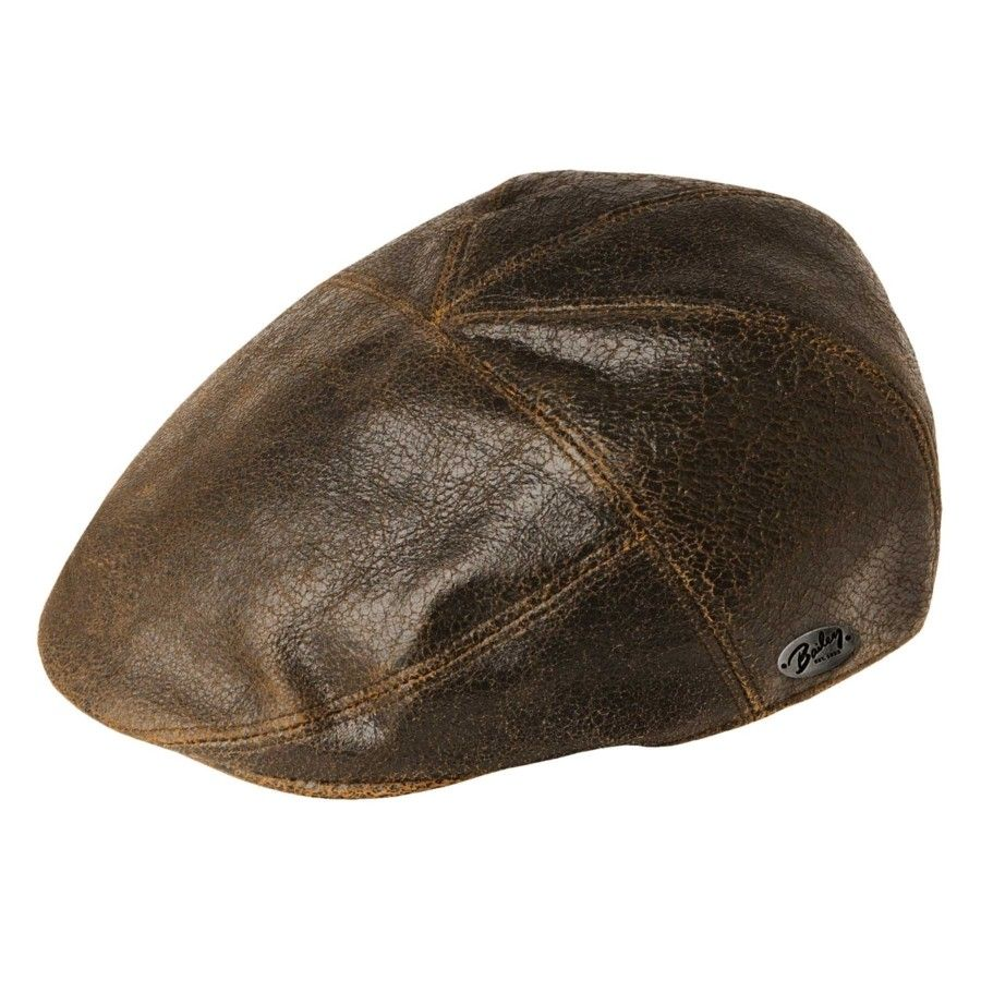 b94f7377 Bailey of Hollywood Taxten Leather Cap | bookie's favs