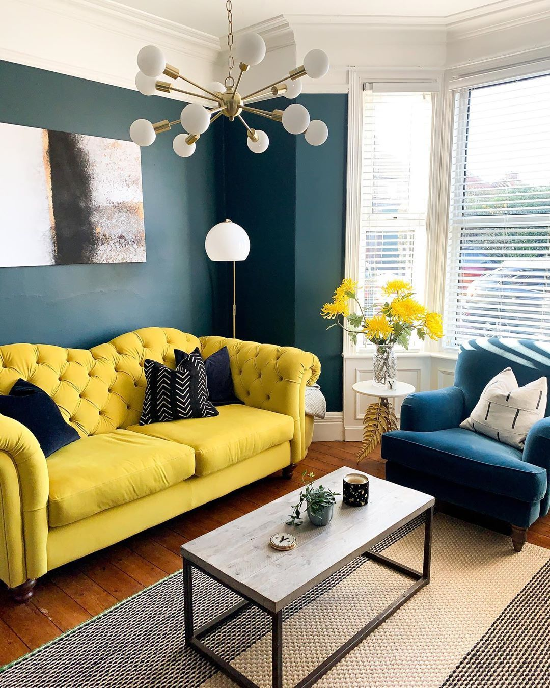 Yellow Best Colour Choice For Lockdown Colour Your Casa In 2020 Yellow Home Decor Yellow Furniture Sofa Colors
