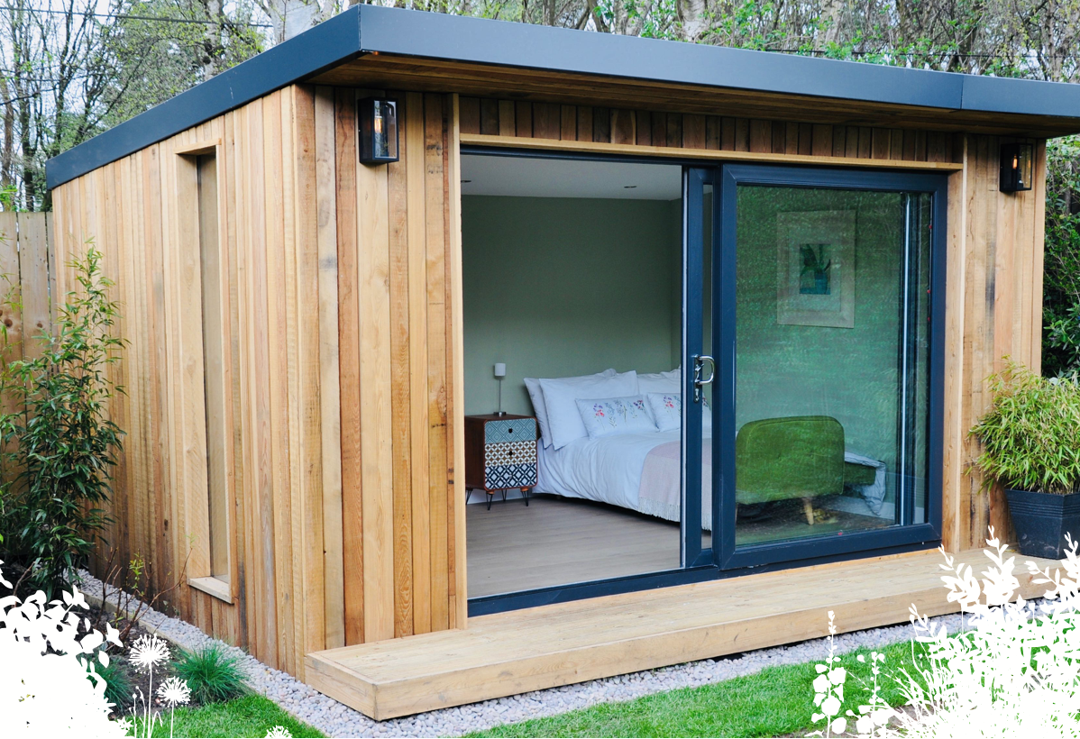 An example of one of our Garden Rooms being used as an extra ...