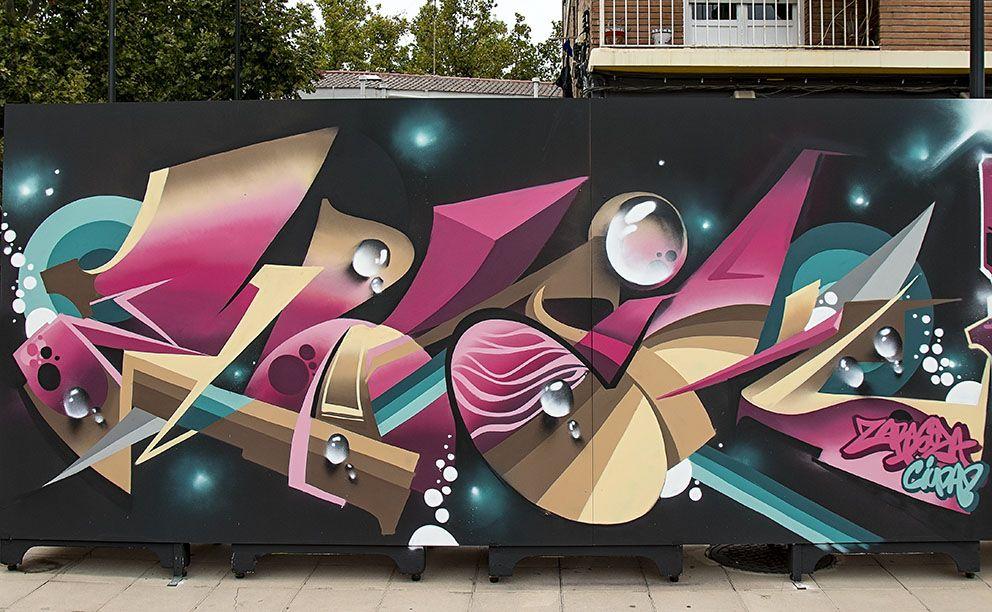 Zaragonés Art Street En El Barrio De La Jota De Zaragoza Zaragoza El Barrio Ventanas