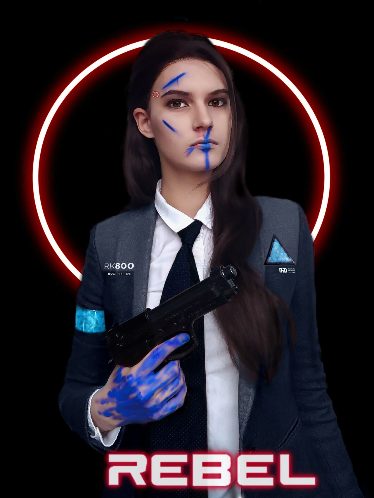 Amazing Cosplay Of Kara And Connor From Detroit Become Human Detroit Become Human Becoming Human Detroit